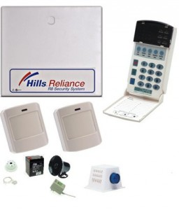 Hills wireless alarm systen