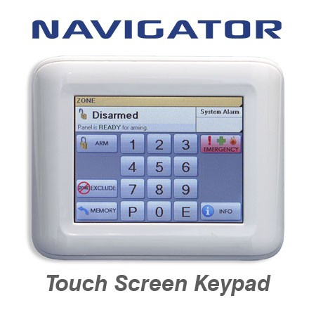 Alarm systems home security online ness security navigator touch alarm keypad swarovskicordoba Images