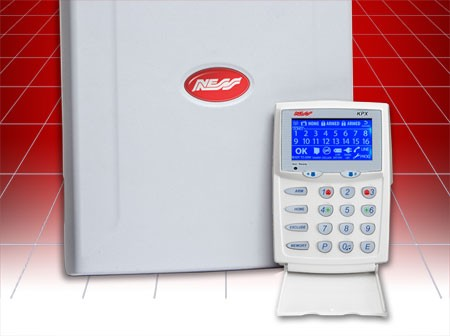 Ness Security LCD alarm